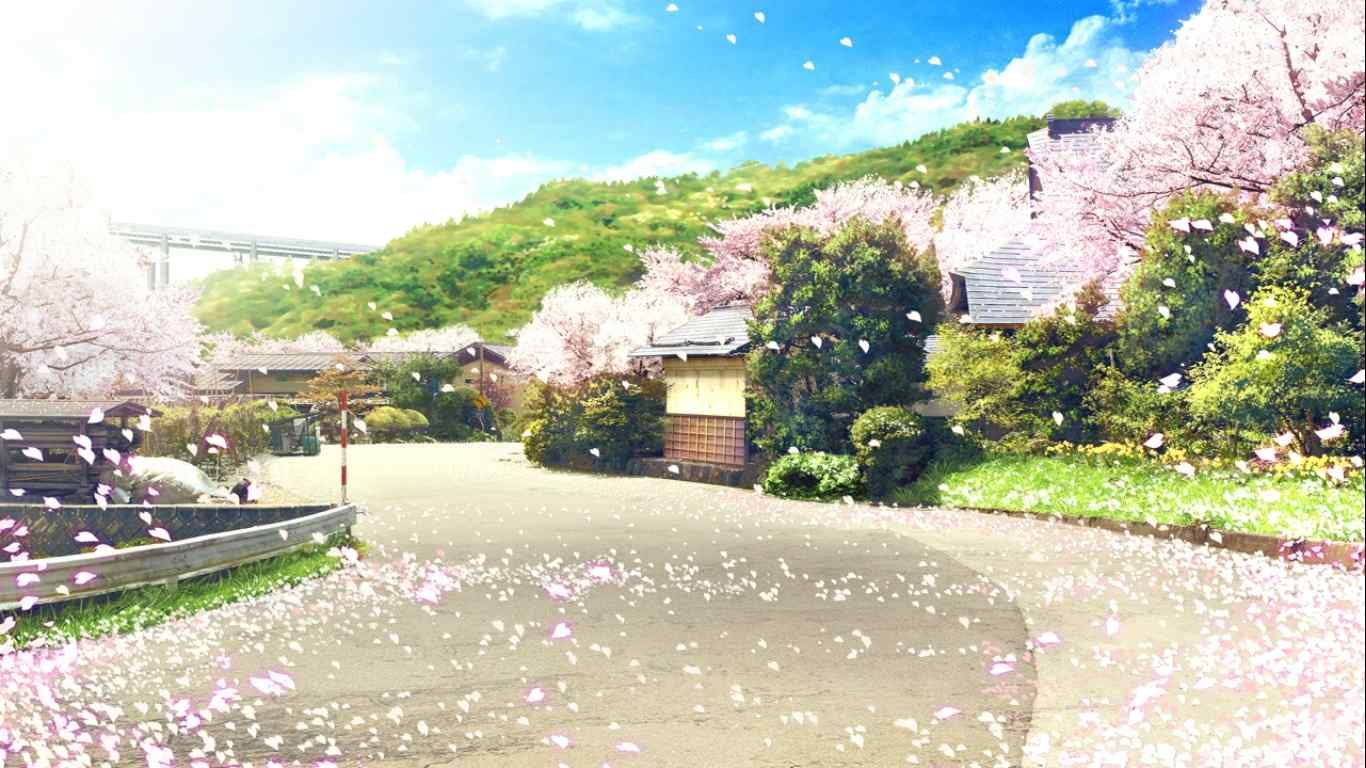 聖地巡礼ダイアリー 巡礼:さくら、咲きました。 場所:山形県山形市・南陽市・白鷹町