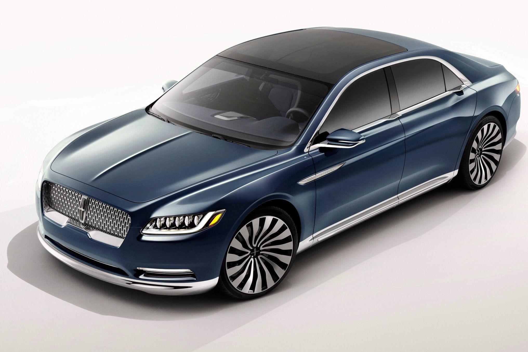 2017 Lincoln Continental Concept Car