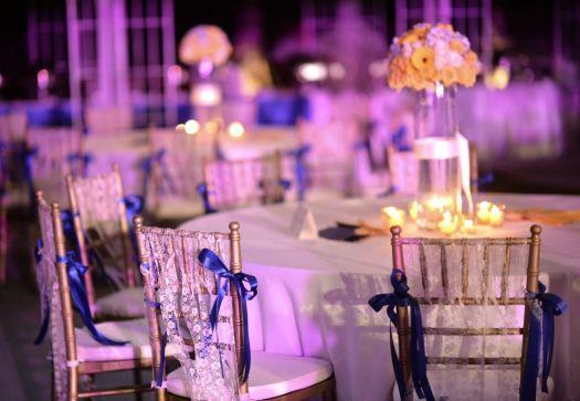 Decoração de cadeiras para casamentos [Foto]