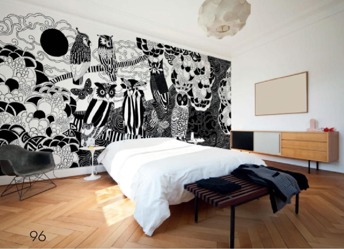Design Decoration Issue 4 Wallpaper Walls Bedroom Wall Murals Bedroom Wall Murals