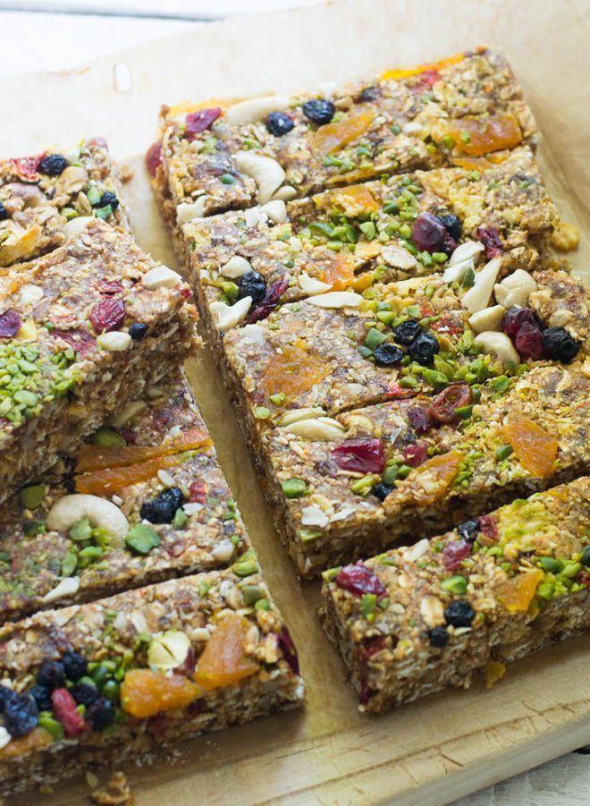 S-Küche Orange Raw Energy Bars - Meine Energiespender snacks - meine vegane k che
