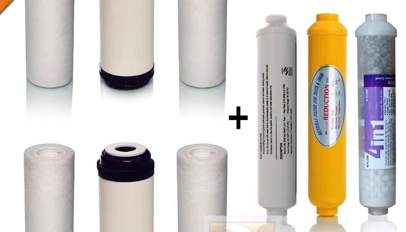 1 Jahres Filter Set Mit Aktivkohle Für Die 7 Stufige