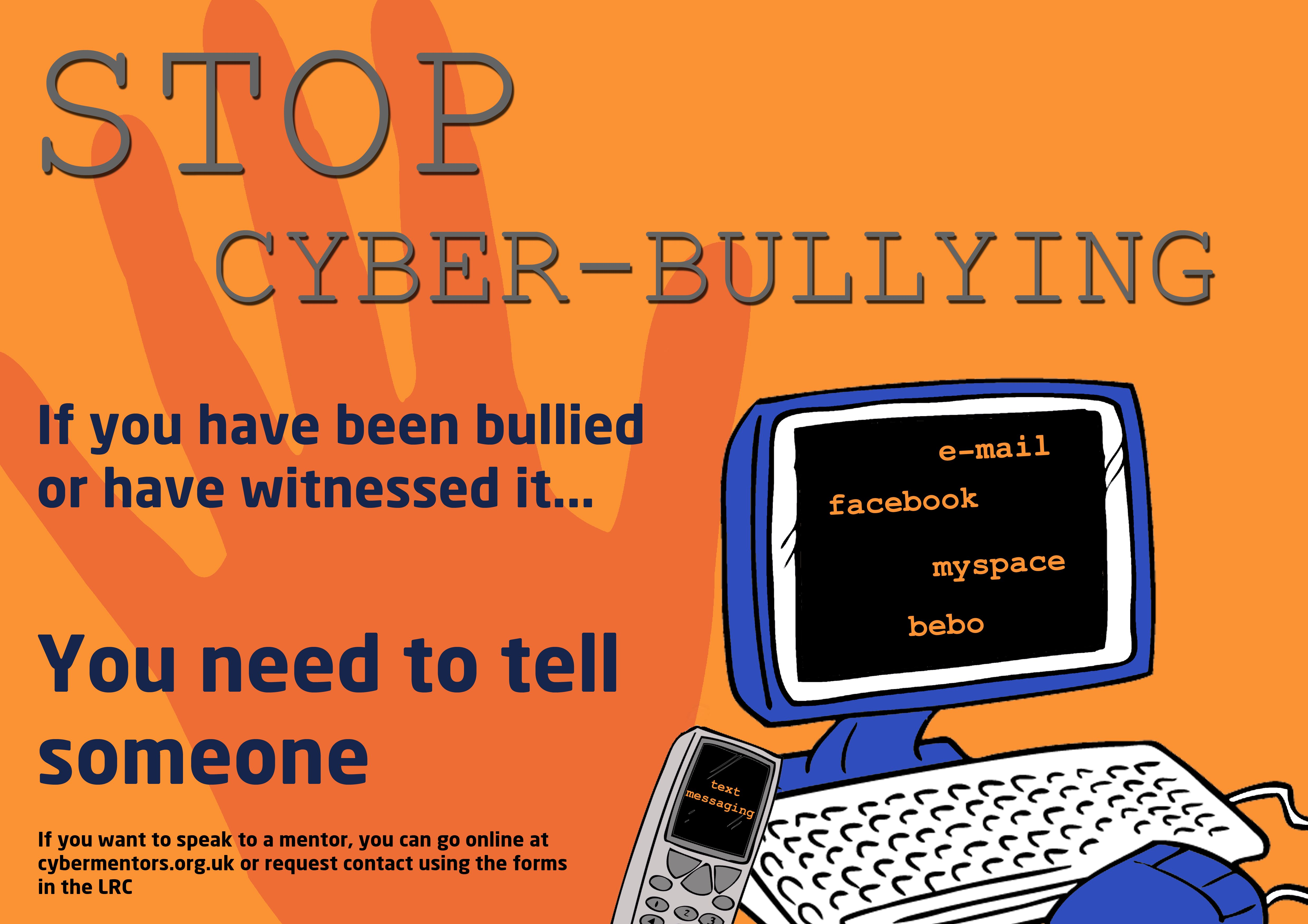 cyber bullying expo The history of cyberbullying with the prevalence of electronic technology in today's world, cyberbullying is a real and current concern for both kids and parents cyberbullying is any bullying activity that happens using electronic technology, such as cellphones, computers or tablets, according to stopbullyinggov.