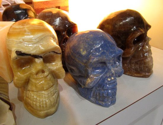 Gifts & Decor | Enter The Earth Stone Skulls