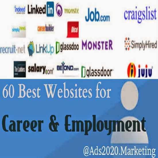 top 100 best job sites for employment recruitment career and online hiring jobposting free sites 2017