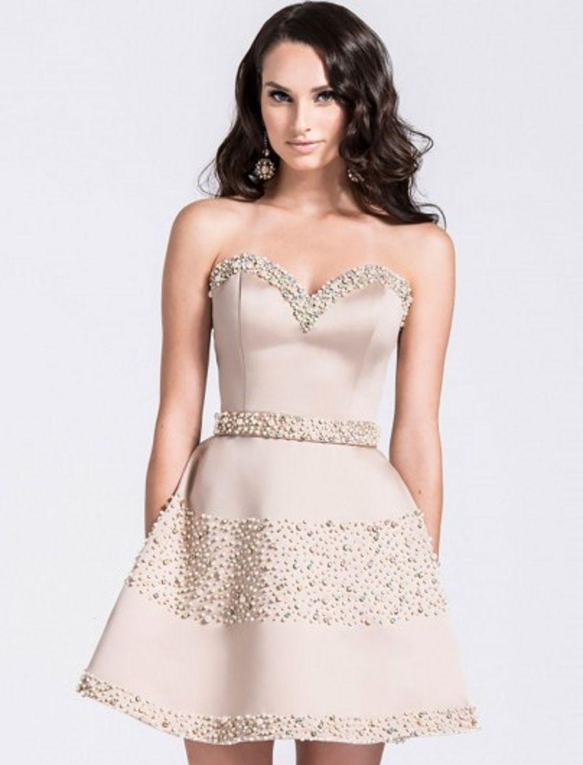 Sexy Short Beaded Luxury robe de Cocktail Dresses vestidos de coctel ...