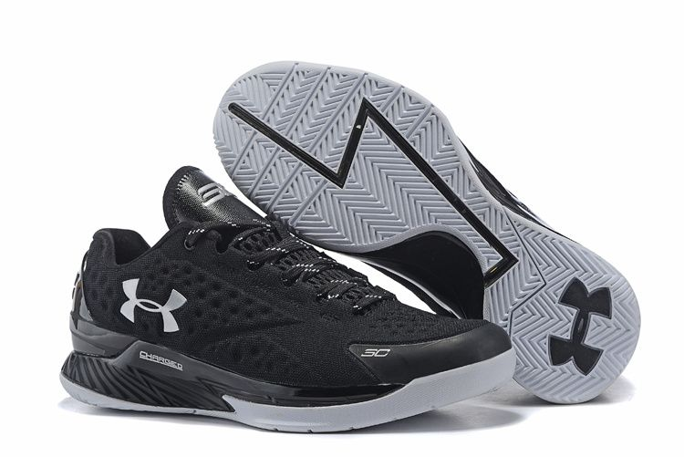 e936897a4e16 The cheap under armour ua curry1 elite low basketball shoes for men in all  black online. Newest And Cheapest UA Curry One ...