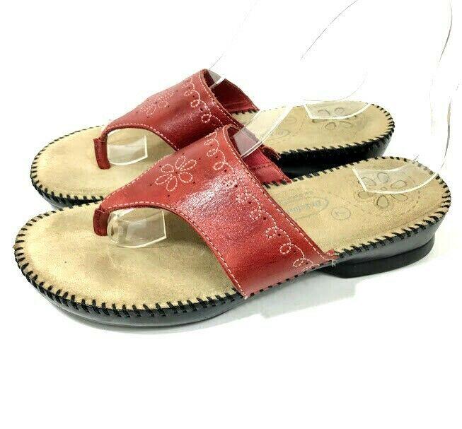 2ce9537d2968 Naot Womens Sandals Metallic Leather Rhinestone Size 6   37 Slip On Slide  Israel