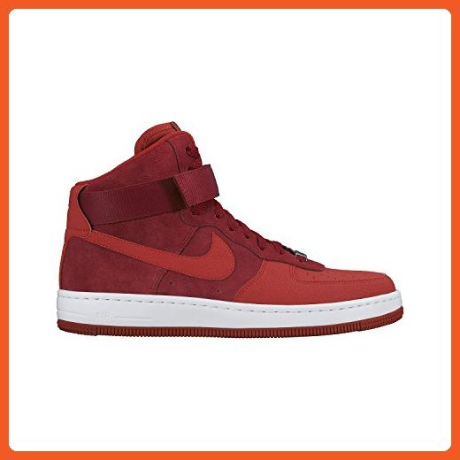 NIKE Nike Women s Air Force 1 Ultra Force Mid Basketball Sneaker Gym Red University Red Black Gym Red 10 Cheap Sale