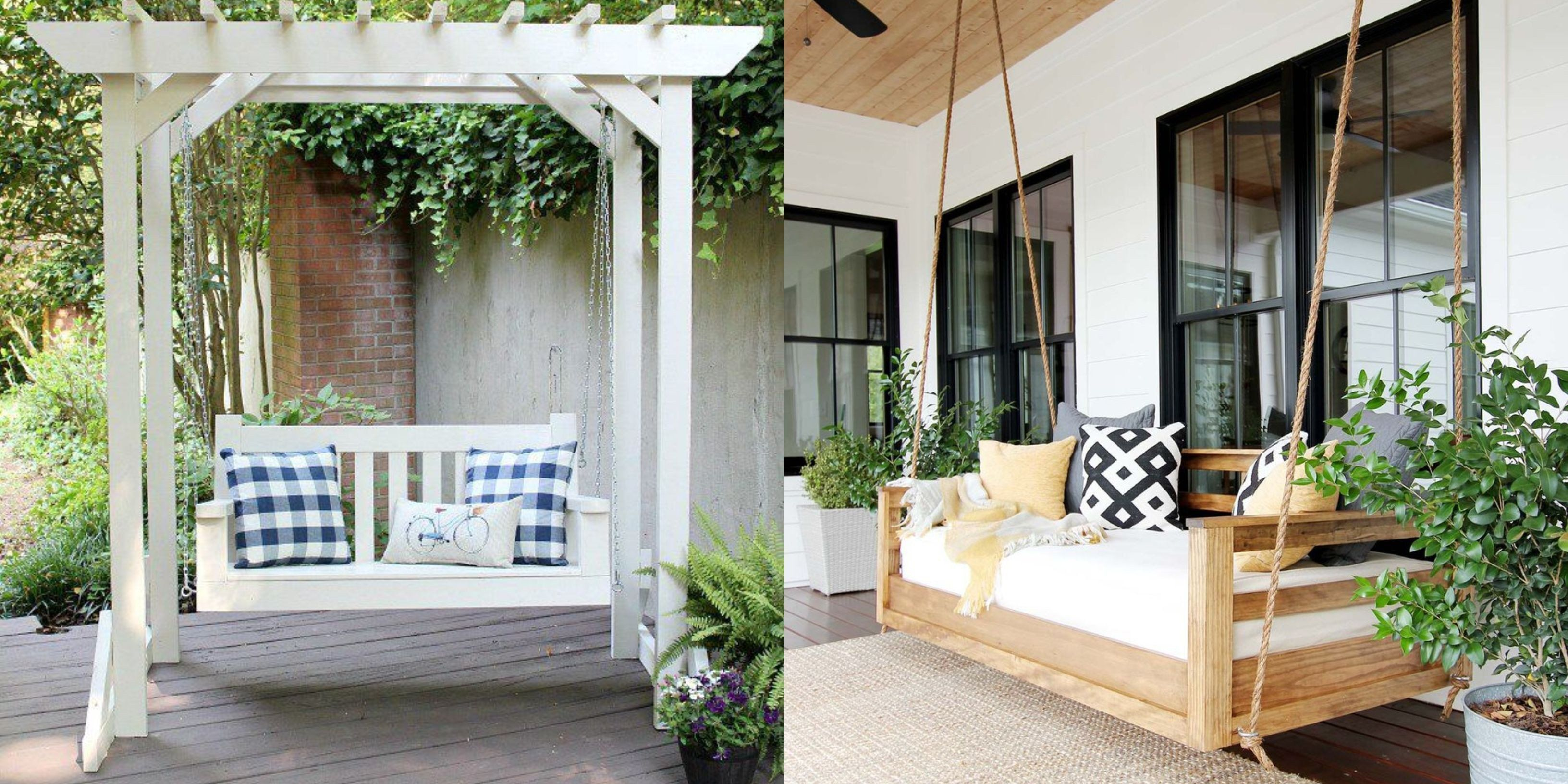 Diy Front Porch Ideas Awesome 20 Porch Swing Plans Diy Porch Swing Hanging Porch Swing Porch Swing Plans Outdoor Porch Bed