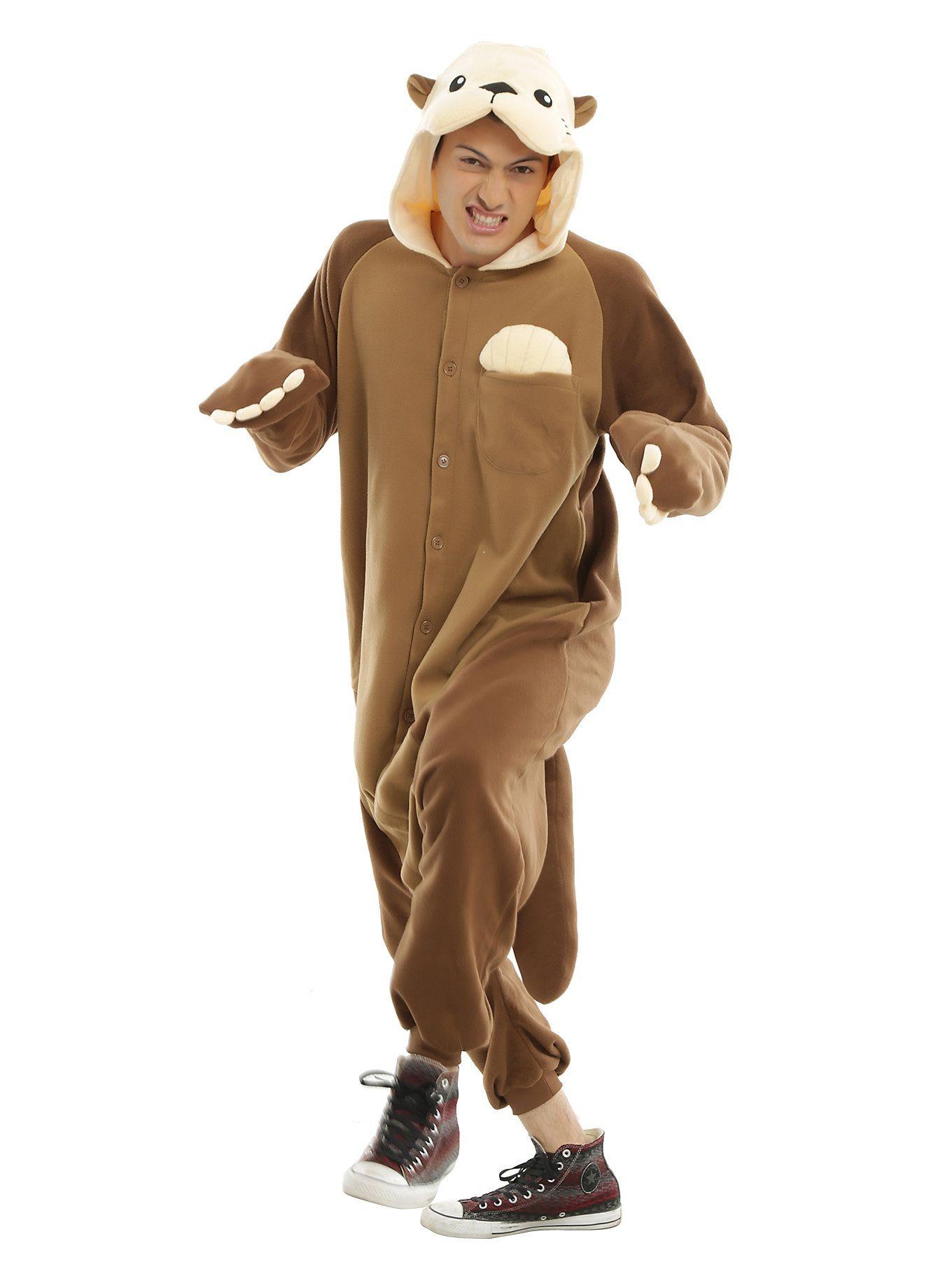 Otter Kigurumi Costume Pajamas  ffff1c9dd