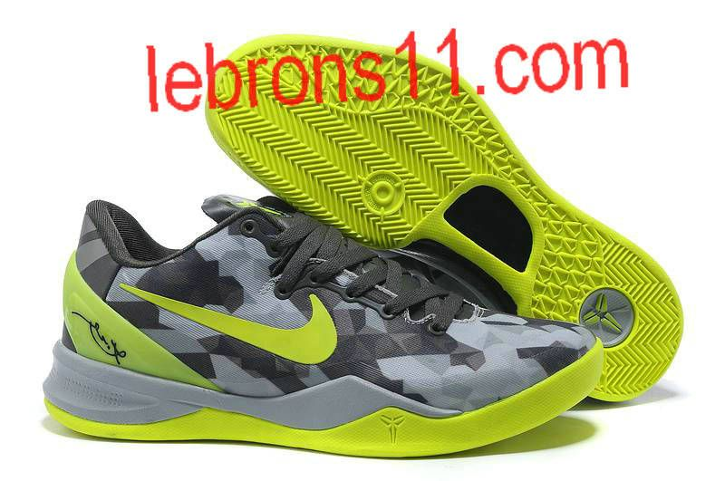 kobe 8 shoes black and yellow for cheap billig