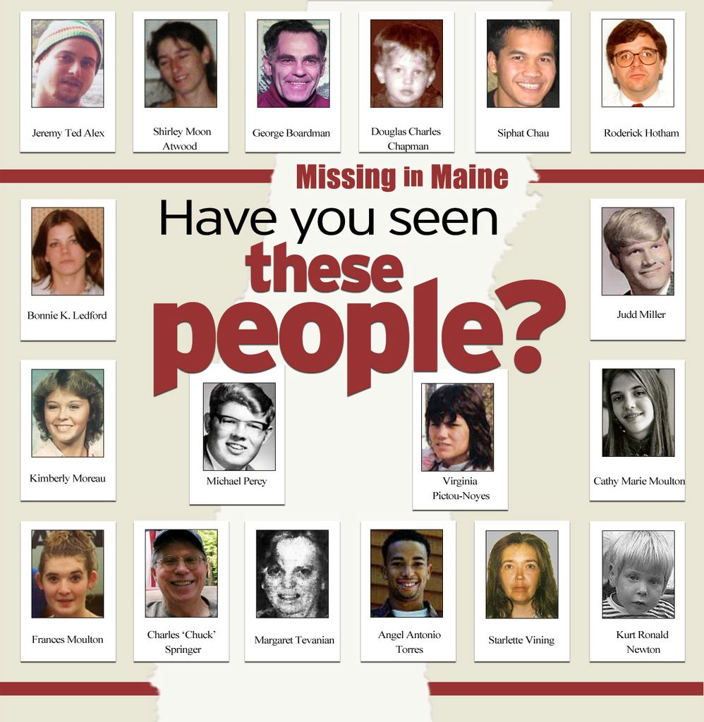 Profiles of Maine's missing people — State — Bangor Daily ...