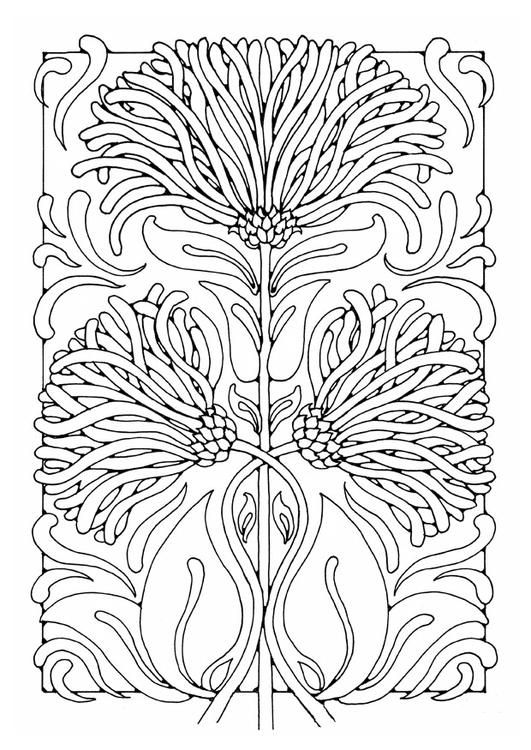 Coloring page flowers | Adult coloring, William Morris | Pinterest ...