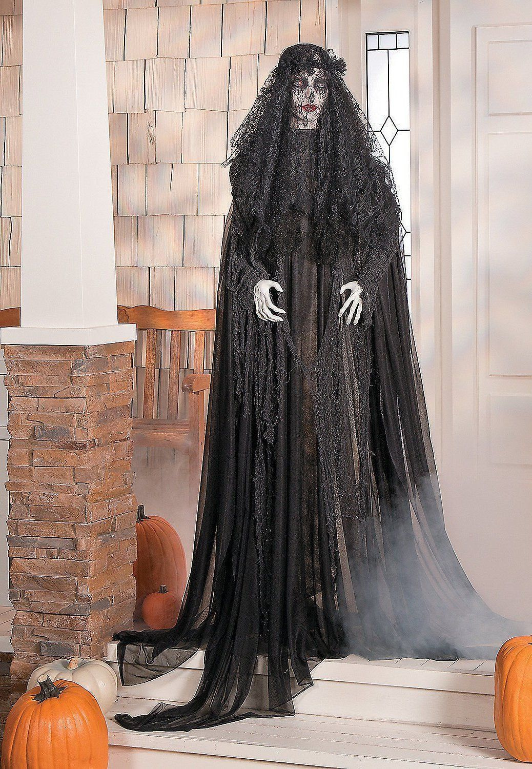 Haunting Lady Halloween Witches Decorations Halloween ideas - Witch Decorations For Halloween