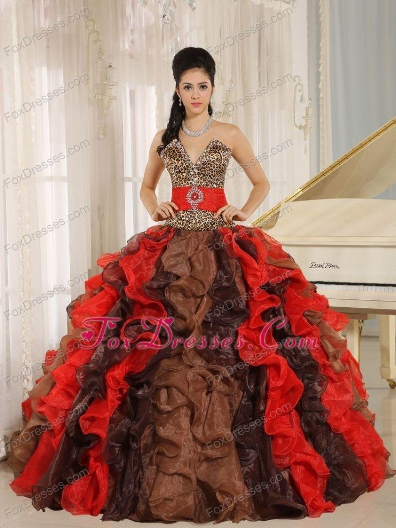 19ca2bb6f4 Best Cheetah Wedding Dresses