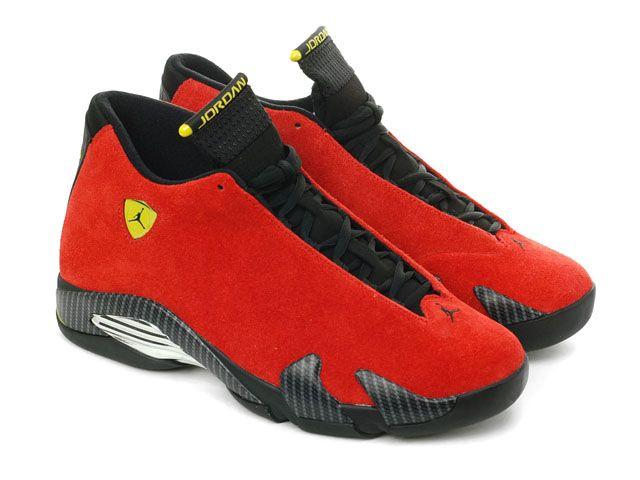119f84e6ece3 ... coupon nike air jordan 14 xiv retro ferrari chilling red black yellow  654459 670 d4432 0cb7b