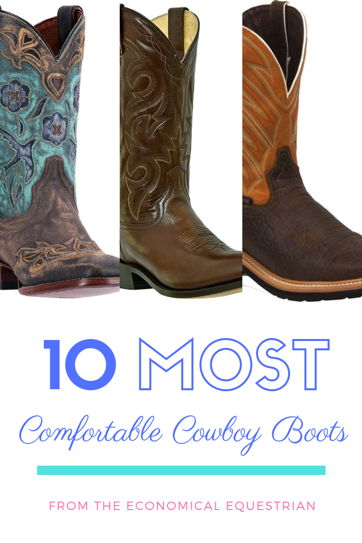The 10 Most Comfortable Cowboy Boots in