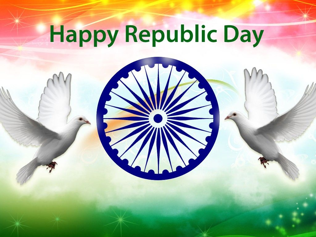 26 January Tiranga Images Picture Republic Day Indian Flag