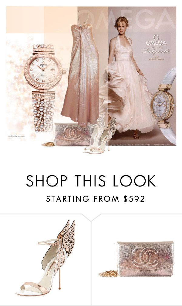 """""""#omega"""" by betiboop8 ❤ liked on Polyvore featuring Sophia Webster, Chanel, Thierry Mugler, women's clothing, women, female, woman, misses, juniors and omega"""