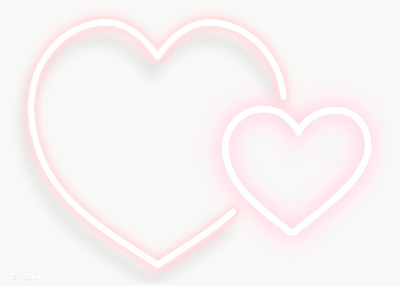 Pink Double Hearts Transparent Png Free Image By Rawpixel Com Adj Valentines Frames Valentines Design Stock Images Free