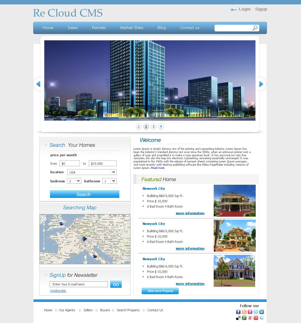 Wordpress Real Estate Theme 12 By Nyc Web Apps Get Yours For Free