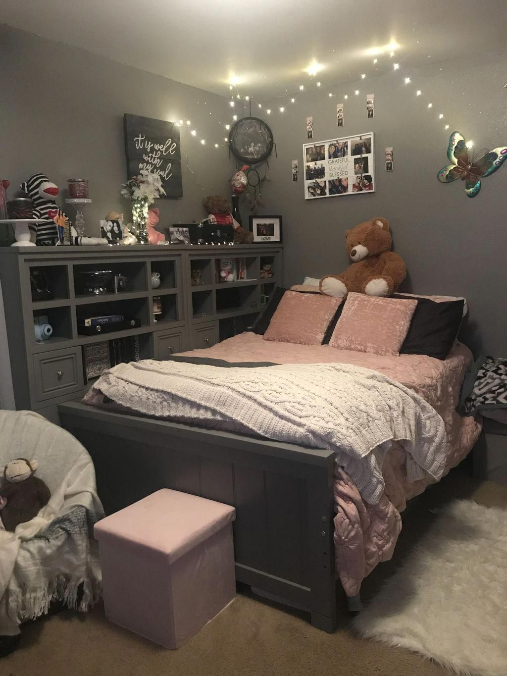 30+ Girly But Unique Girl Bedroom Design Ideas | Small ...