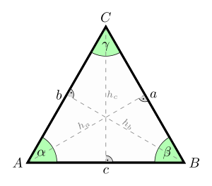 Equilateral Triangle Wikipedia The Free Encyclopedia Triangle Geometric Geometry