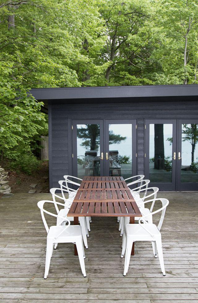 Cabin Patio Smitten Studio Idées, Cabin Outdoor Furniture