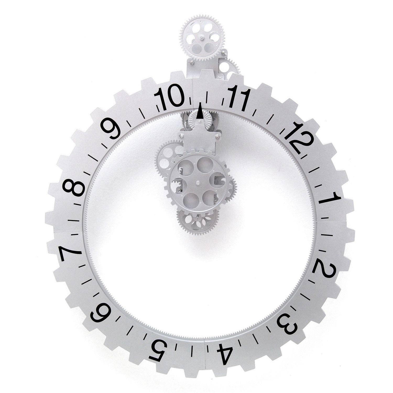 Big Wheel Hour Wall Clock Gear Wall Clock Large Gear Wall Clock Large Wall Clock