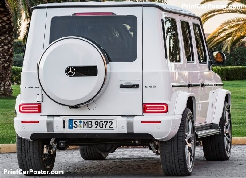 Mercedes Benz G63 Amg 2019 Poster With Images Mercedes Suv