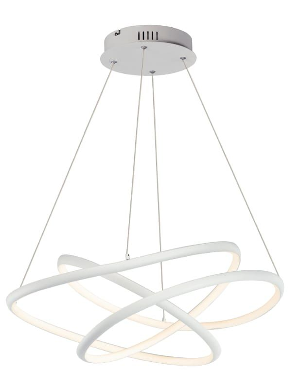 Et2 E30645 Twisted 31 12 Wide Integrated Led Chandelier With