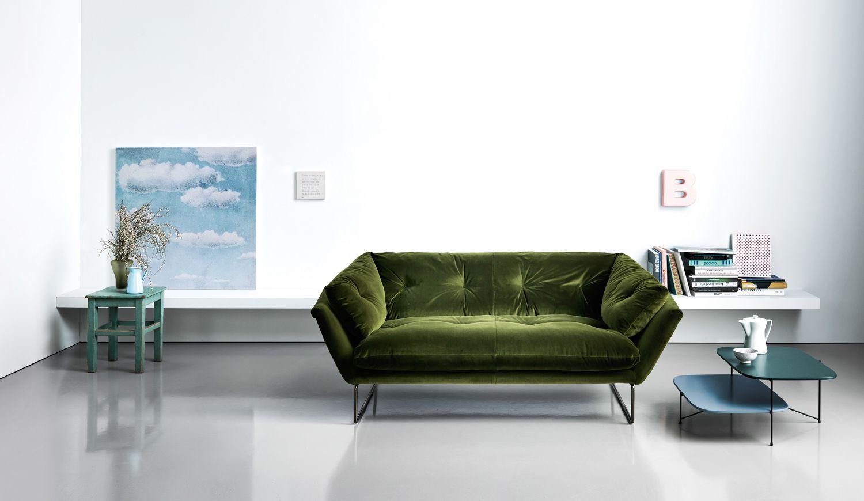 New York Suite Saba Italia Furniture Contemporary Sofa Statement Sofa