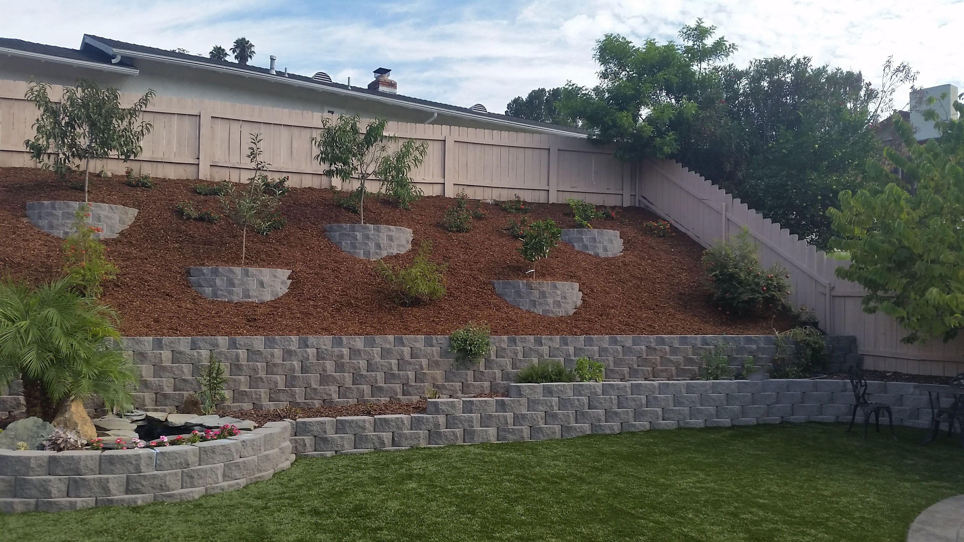 Retaining Walls Artificial Turf Turf Outdoor Decor