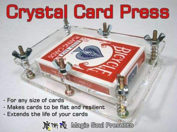Crystal Card Press