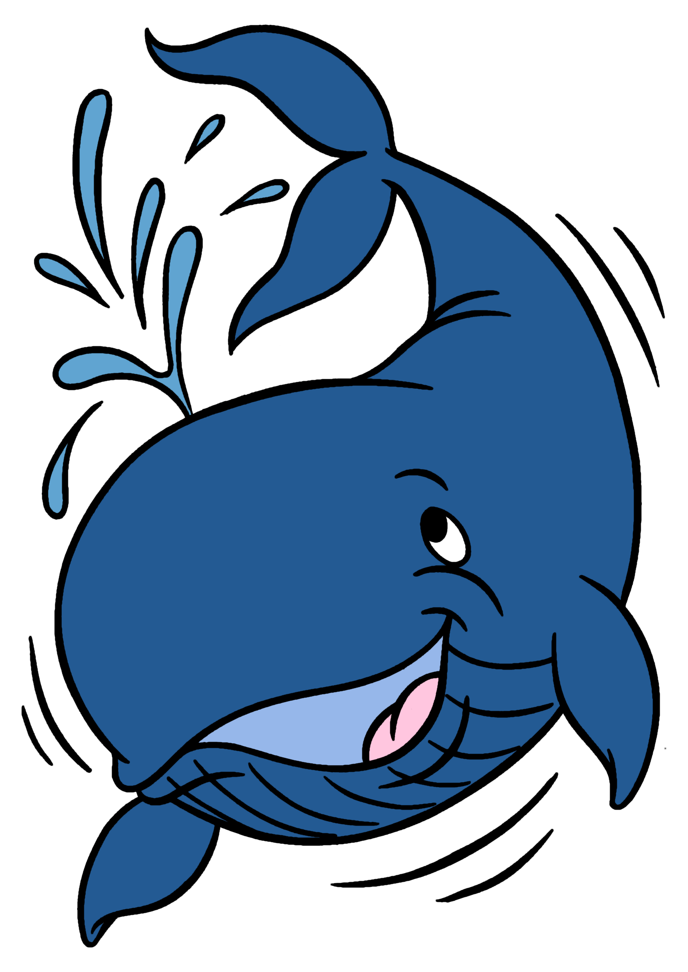 Whale clipart Cartoon clip art, Cartoon drawings, Clip art