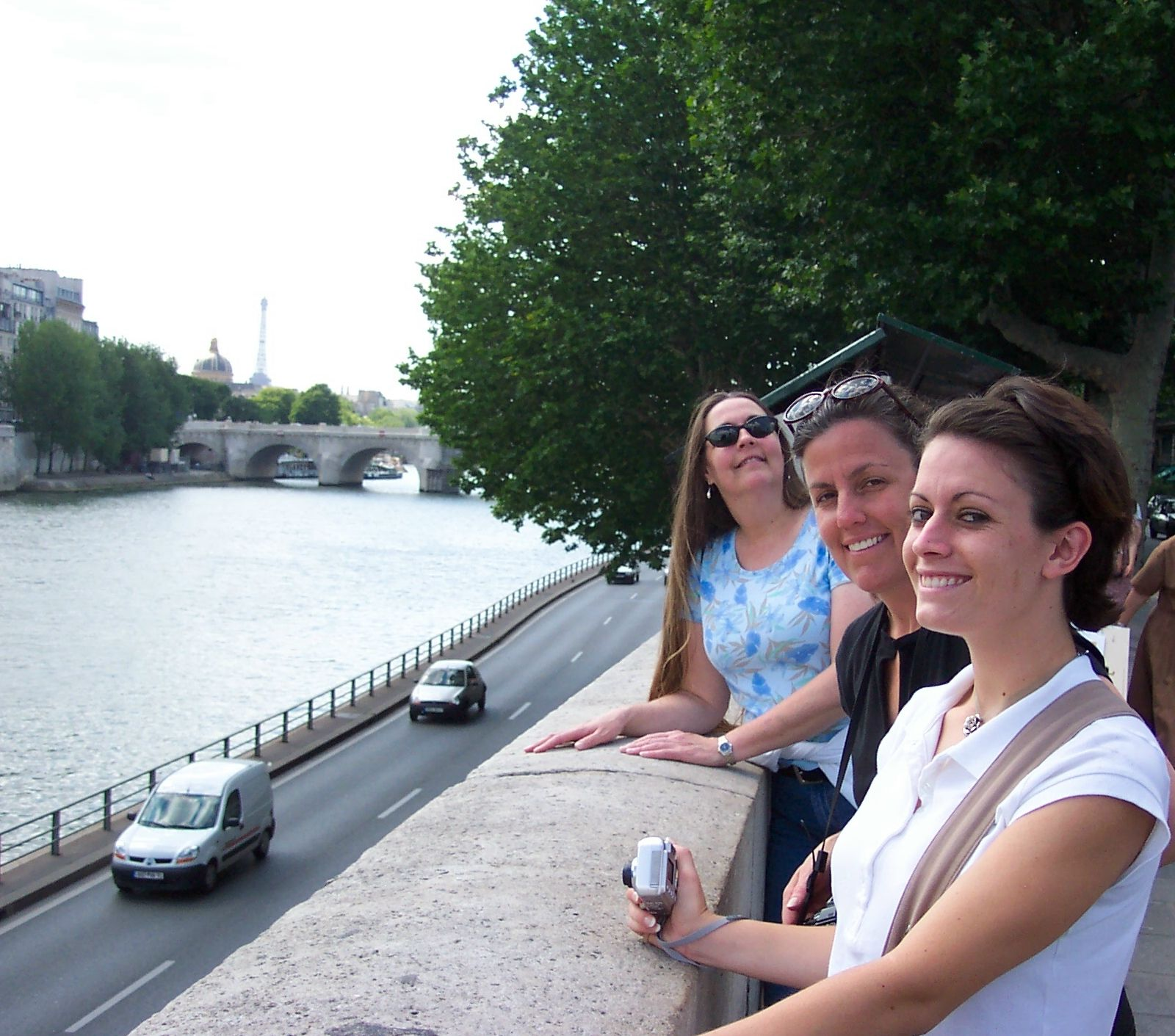 Sisters along the Seine.....