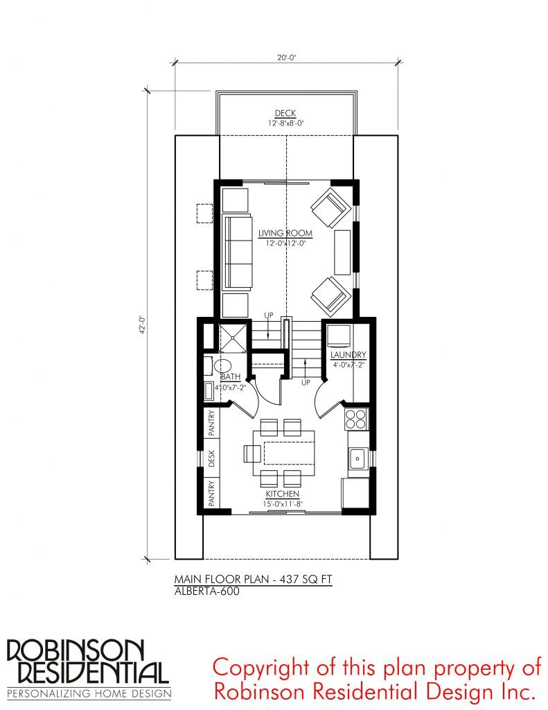 Alberta 600 Robinson Plans Floor Plans Unique Floor Plans House Plans