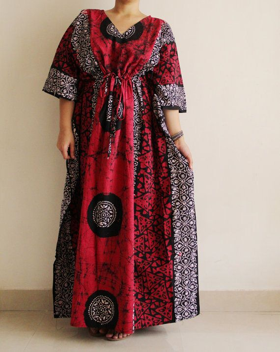 ca2e1efd8 one of a kind batik print dress, Cotton kaftan, hand dyed dress, Ready to  dispatch immediately. Avail a 20% store wide discount on all items.