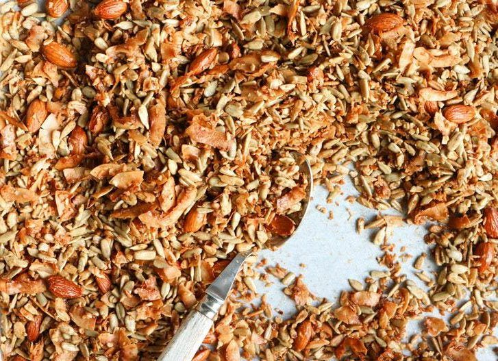 Crunchy grainfree vegan granola recipe vegan granola