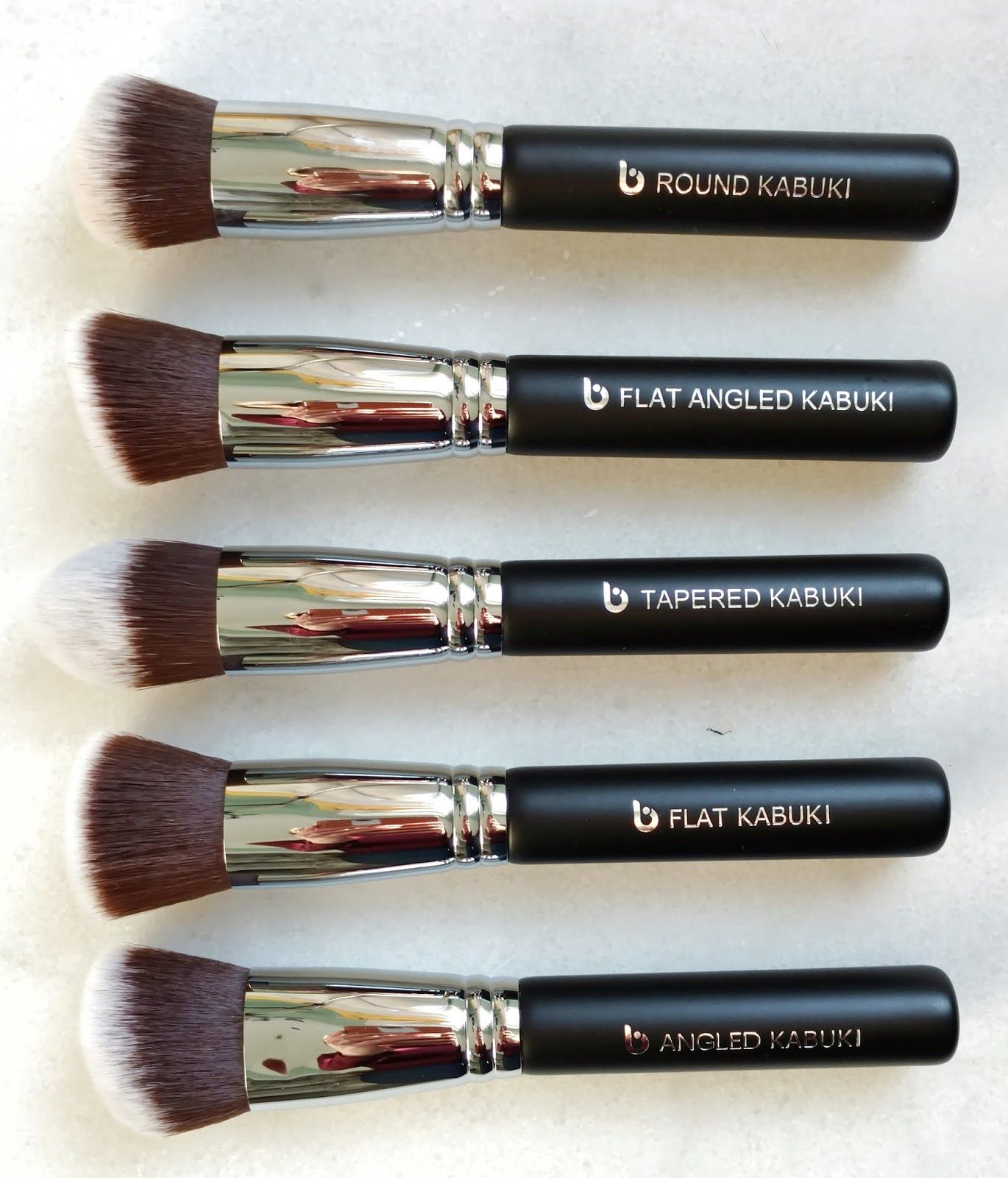Beauty Junkees Kabuki Brush Set Review Kabuki brush set