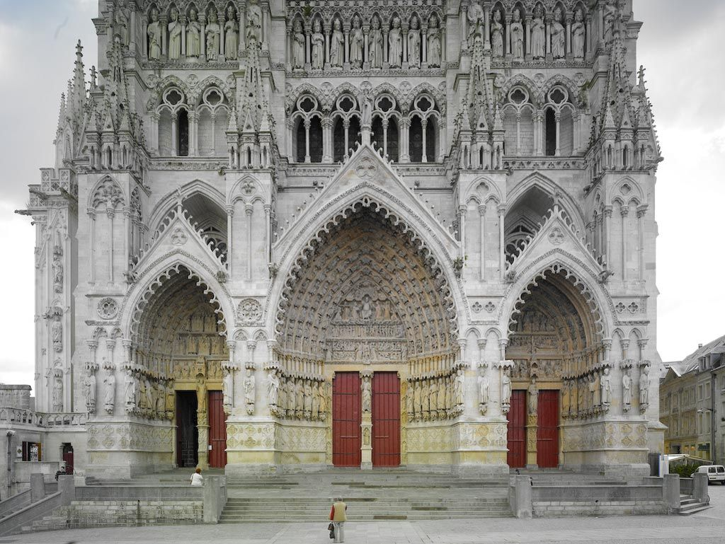 Attrayant Portals Of Amiens Cathedral