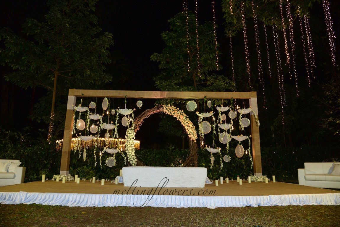 The Taj West End Hotel Bangalore Wedding backdrop