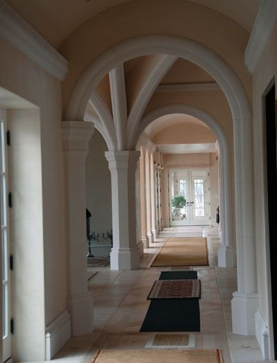 Interior Cast Stone Arches Mouldings Trim Kraft