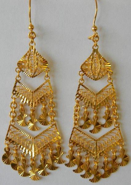 Middle Eastern Jewelry Earrings 632 bijouxxxx Pinterest