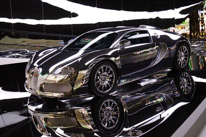 Bugatti Veyron at Wolfsburg