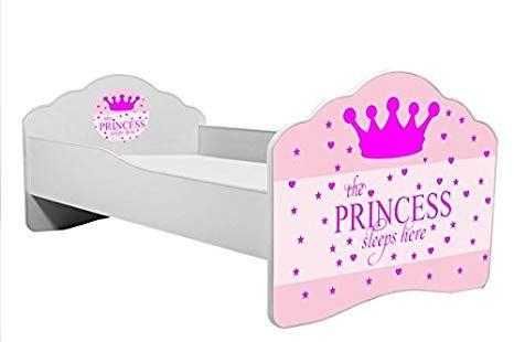 """Bett für Kinder """"schlafende Prinzessin"""" Kinderbett Größe"""