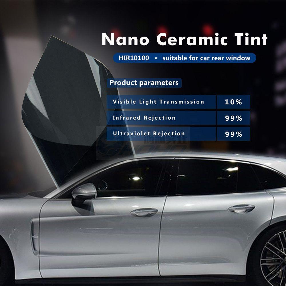 1 52x20m 5ftx65ft Car Window Tint Film Vlt 10 2 Ply Solar
