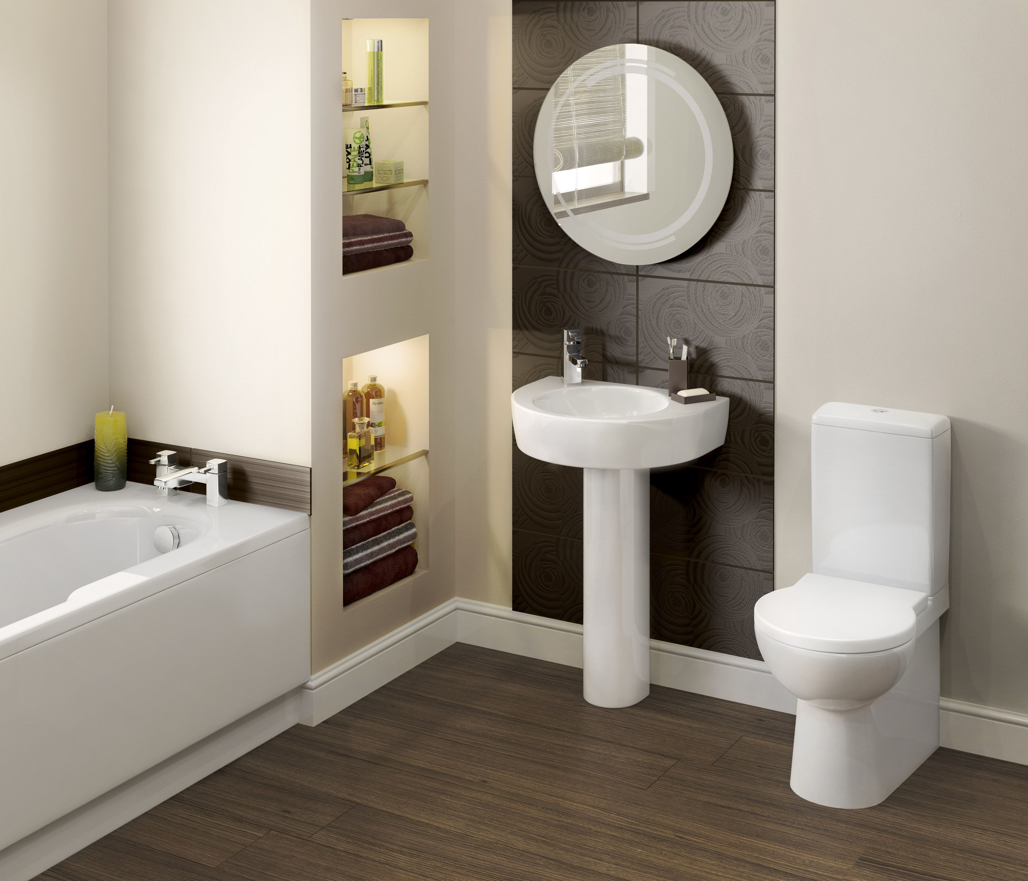 Soluciones Para un Cuarto de Baño Pequeño | baños | Pinterest ...