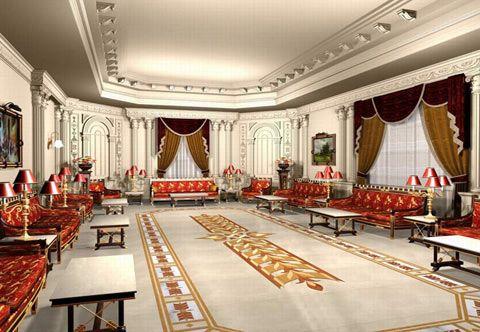 ديكورات فخمة مجالس ملكية Islamic Design Interior Design Design